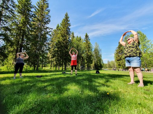 Oulu tarjoaa monipuolisesti soveltavaa liikuntaa