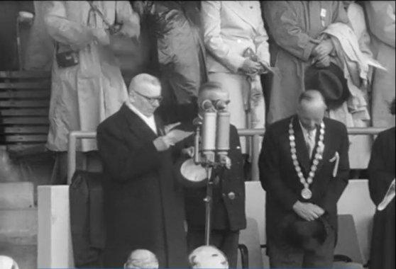 Helsingin vuoden 1952 olympiakisat avanneen Paasikiven syntymästä 150 vuotta