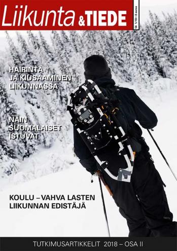 Liikunta & Tiede -lehden 1/2019 kansi.
