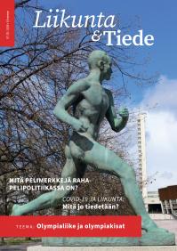 Liikunta & Tiede -lehden 3/2020 kansikuva
