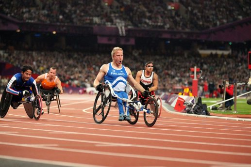Paralympialaiset nousivat suurten joukkoon