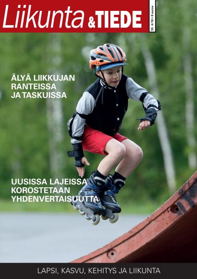 Liikunta & Tiede -lehden 4/2018 kansi.