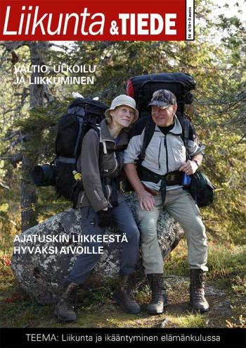 Liikunta & Tiede -lehden 4/2019 kansikuva.