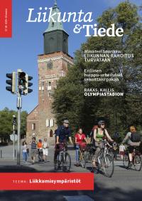 Liikunta & Tiede -lehden 4/2020 kansikuva