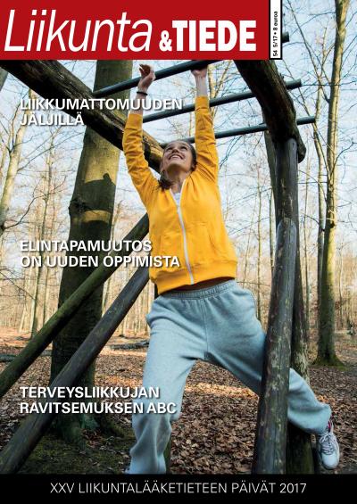 Liikunta & Tiede -lehden 5/2017 kansi.