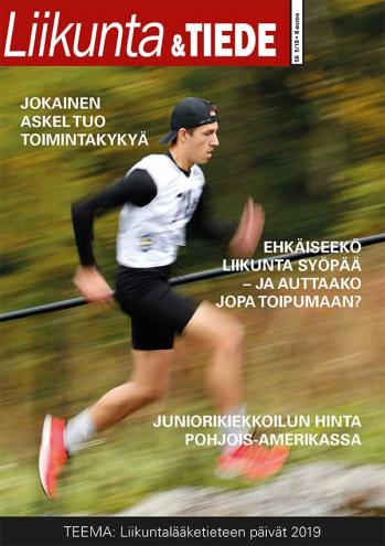 Liikunta & Tiede -lehden 5/2019 kansikuva.