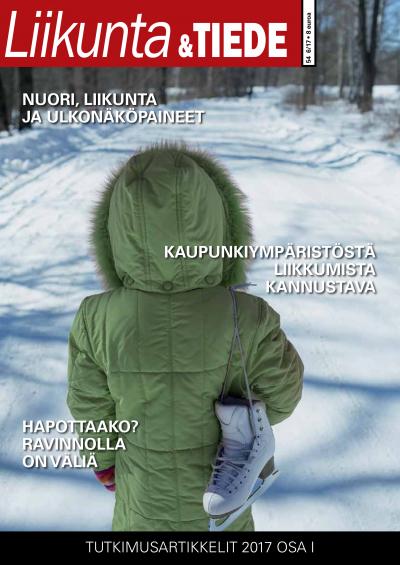 Liikunta & Tiede -lehden 6/2017 kansi.