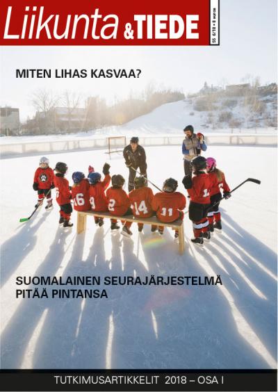 Liikunta & Tiede -lehden 6/2018 kansi.
