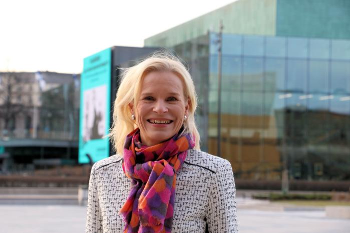 Naisjärjestöjen Keskusliiton pääsihteeri Terhi Heinilä.