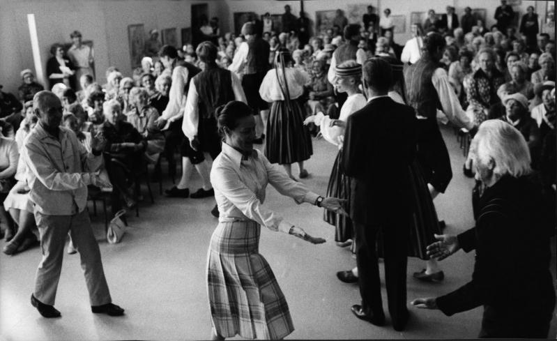 Eläkeläisten kulttuuriviikon teemana oli tanssi. Kuva: Ikäinstituutti.