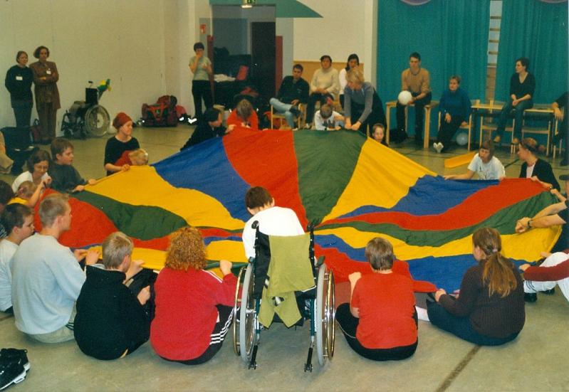 Inkluusioseminaari vuonna 2004. Kuva: Nina Jakonen.