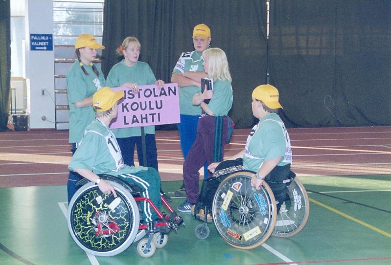 SIU:n nuorisokisat vuonna 1996. Kuva VAU ry:n arkisto.