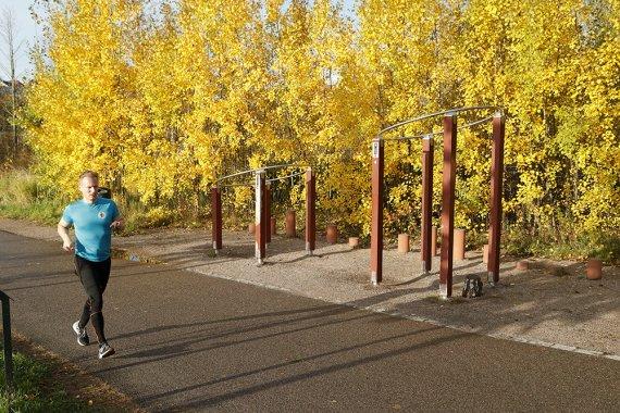 Liikuntaympäristöjen laaja kirjo lisää liikkumista
