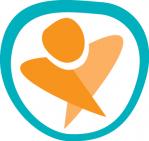 """""""Erityisliikunnanohjaaja – Kohti soveltavan liikunnan kehityskumppanuutta"""" -hankkeen logo."""