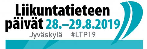 Liikuntatieteen päivät 28.-29.9.2019 logo